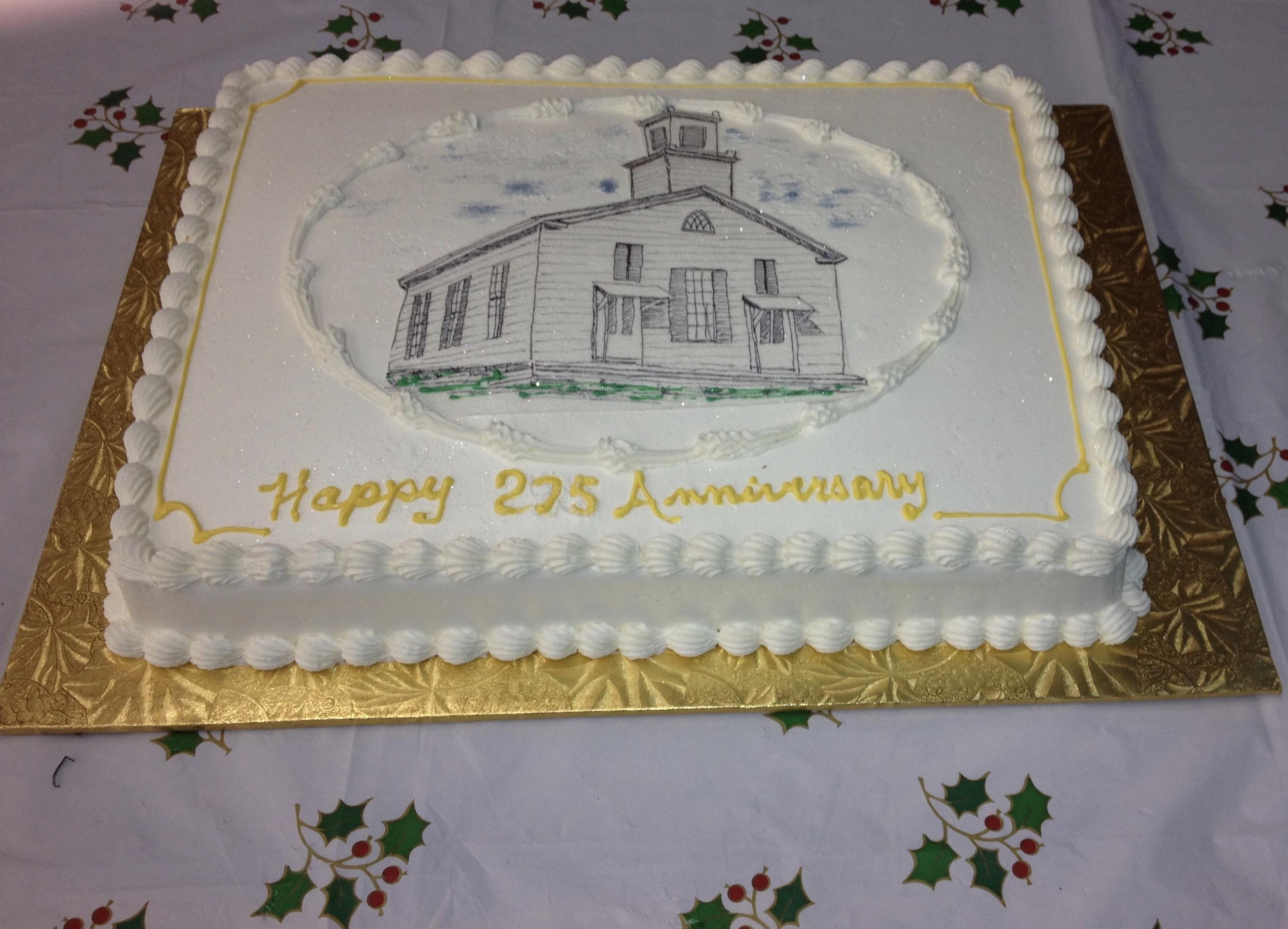 Church Anniversary Cake Images : The Congregational Church of Union - The People
