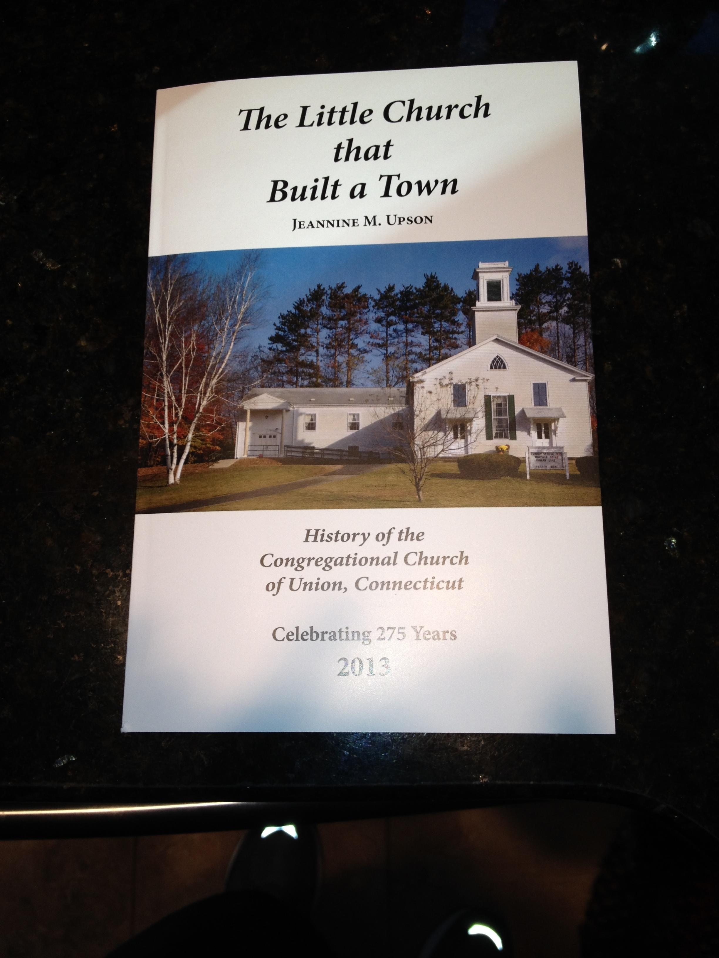 This history of the Congregational Church of Union was written in 2013 to celebrate the 275th anniversary of our church.